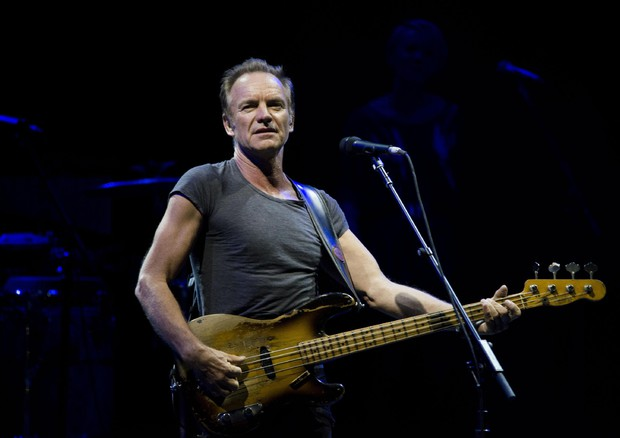 Sting in concert in Rome (ANSA)
