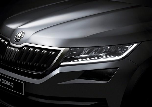 Nuovo SUV Skoda Kodiaq: prime immagini e dettagli