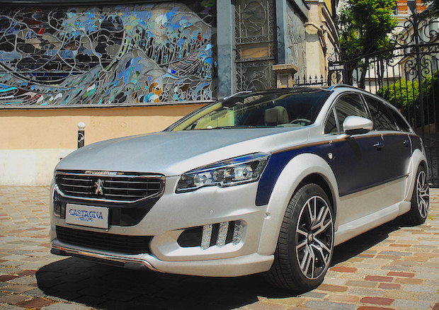 Peugeot 508 RXH Castagna: two is better than one