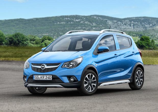 Opel Karl Rocks, la piccola vettura con il look da suv