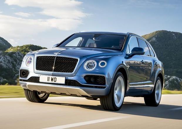Super-suv Bentayga primo modello Bentley con motore diesel