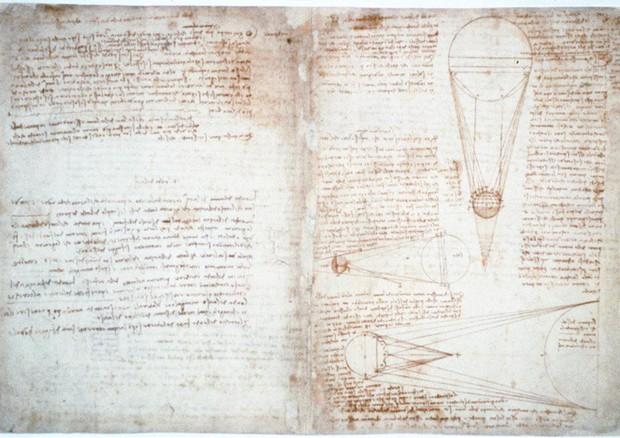 Torna in Italia il Codex Leicester di Leonardo (ANSA)