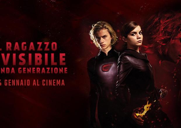 film IL RAGAZZO INVISIBILE - SECONDA GENERAZIONE (ANSA)