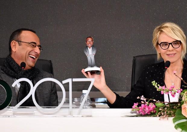 Sanremo 2017, Carlo Conti e Maria De Filippi