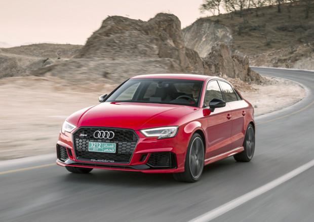 Nuova Audi RS 3 anche in versione Sedan