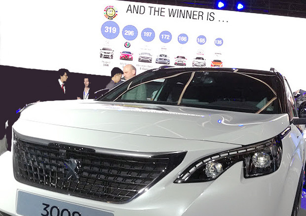 Nuova Peugeot 3008 è Car of the Year 2017, seconda la Giulia