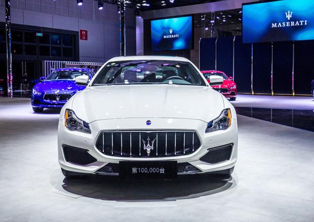 Bigland Ceo Maserati consegna a Shanghai auto numero 100mila