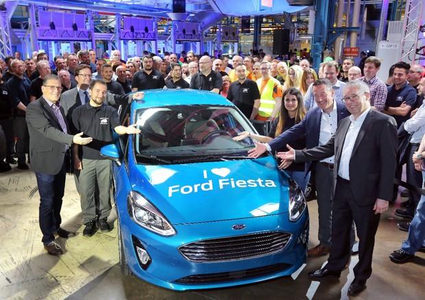 Ford, è partita a Colonia la produzione della nuova Fiesta