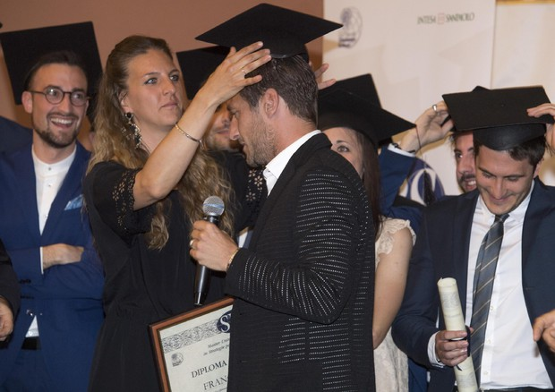 Francesco Totti, 'honoris causa' del Master in strategie per il business dello sport © ANSA