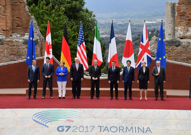 Al via il G7 di Taormina$