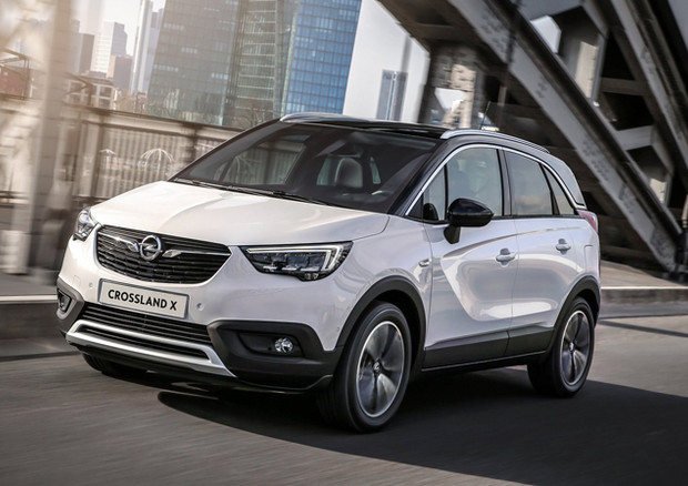 Opel avvia la produzione di Crossland X a Saragozza