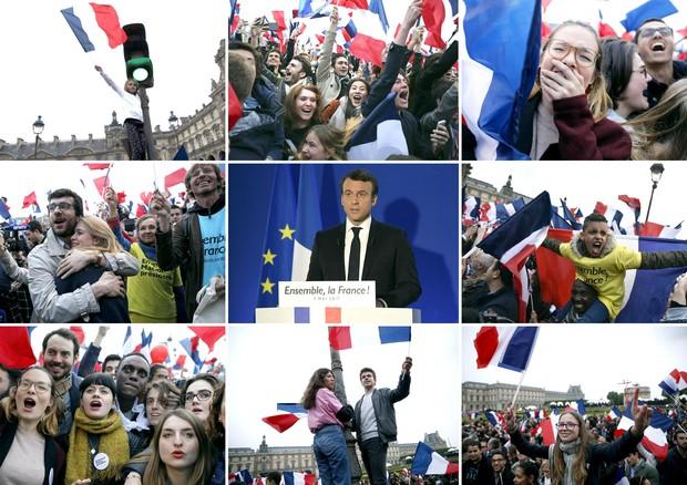 Macron eletto presidente © ANSA