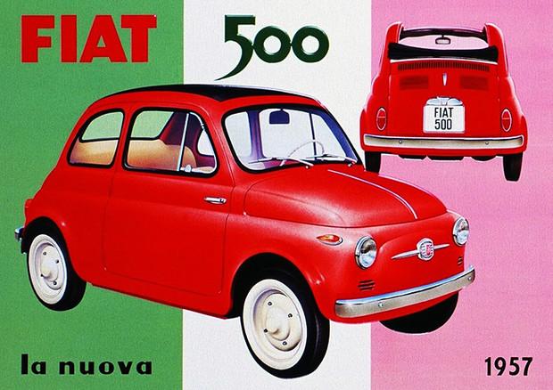 fiat 500, l'automobile mito degli italiani compie 60 anni