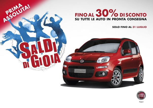 Fca, saldi fino al 30% su Fiat e Lancia