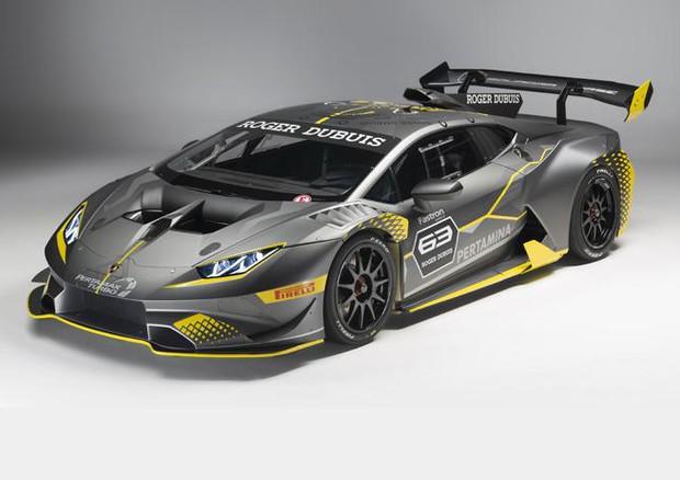 Lamborghini Huracán Super trofeo EVO, belva per la pista