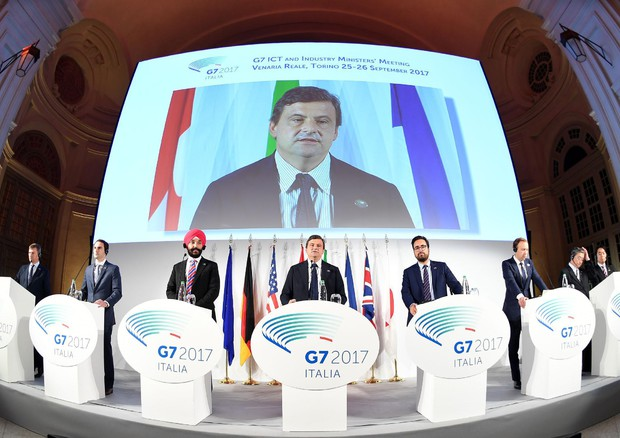 G7 ICT AND INDUSTRY MINISTERS' MEETING © ANSA