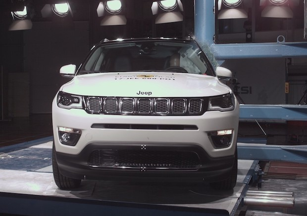 Jeep Compass promossa in sicurezza ai test Euro NCAP © Euro NCAP