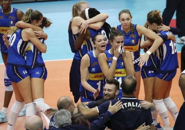 Pallavolo:Mondiali donne, Italia in finale per l'oro (ANSA)