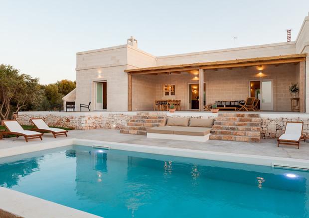 Puglia paradise l affitto di villa con piscina come forma for Vacaciones en villas con piscina