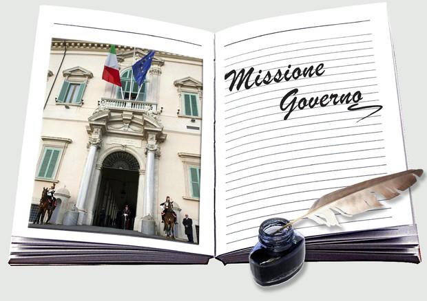 Missione Governo © ANSA