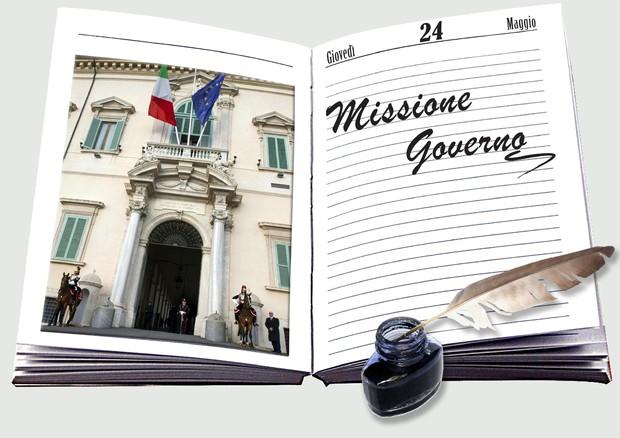 Missione Governo 24 Maggio © ANSA