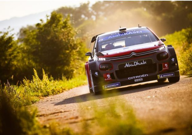 WRC, Citroen competitiva ma senza fortuna a rally Germania © Ansa