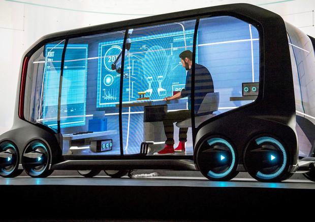 Nel 2021 arrivano auto Toyota con guida autonoma