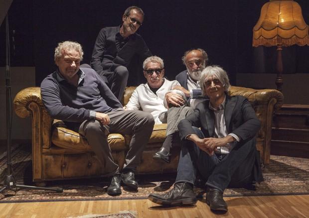 MALEDETTI AMICI MIEI su Rai2 con Giovanni Veronesi, Rubini, Papaleo, Haber (ANSA)