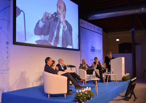 Un momento di 'Meet in Italy for Life Sciences' a Trieste © ANSA
