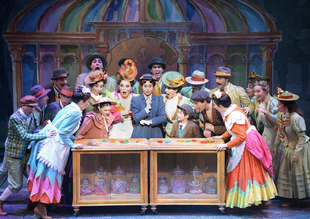 Mary Poppins Il musical (ANSA)