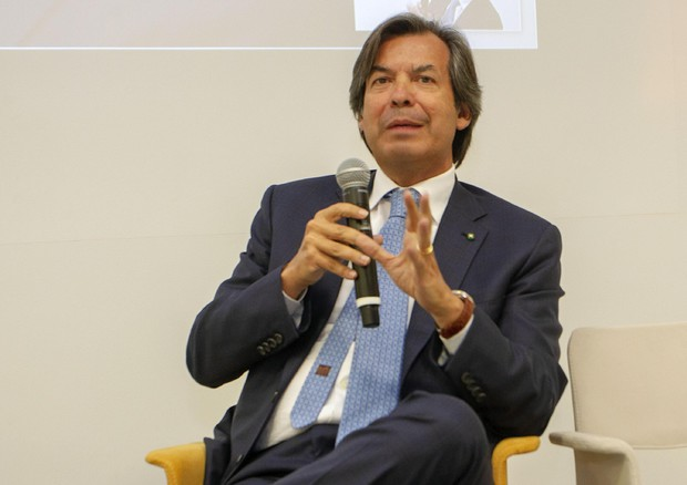 L'intervento di Carlo Messina, CEO Intesa Sanpaolo © ANSA