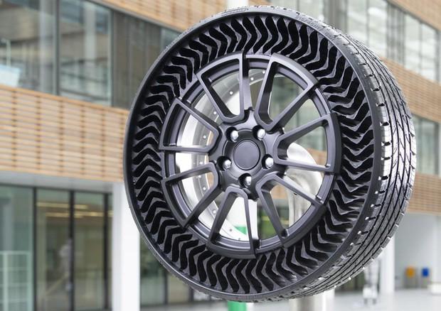 Uptis Michelin, tre premi per rivoluzionaria gomma senz'aria © Michelin