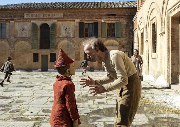 Roberto Benigni - Geppetto in Pinocchio di Garrone (ANSA)