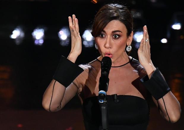 Virginia Raffaele a Sanremo Sanremo 2019 ANSA.it