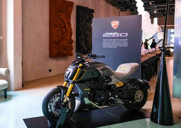 Ducati 'on stage' al The Manzoni con Diavel 1260 S Materico © ANSADucati Press