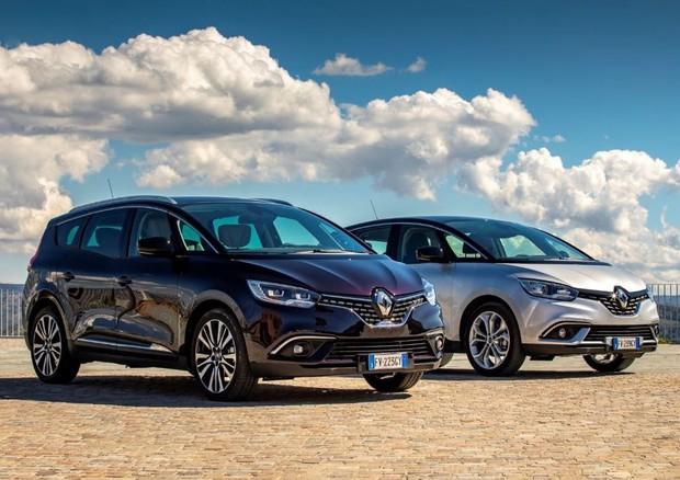 Renault Scenic Nuovi motori