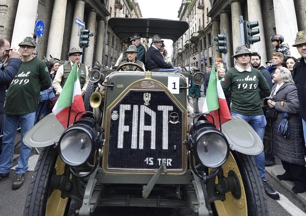Alpini parade in Milan © ANSA