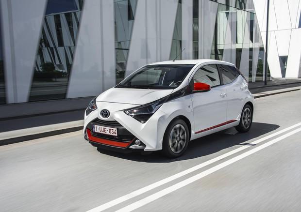 La Toyota Aygo diventa connessa