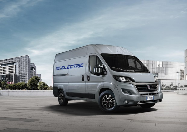 Fiat Professional presenta in anteprima mondiale il nuovo Ducato Electric