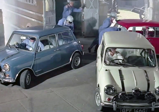 Festa a Oxford  per i 50 anni del film The Italian Job © ANSA