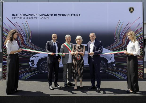 Lamborghini, nuovo impianto di verniciatura per 200 addetti