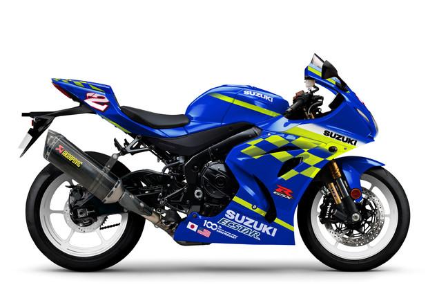 Legend Edition, le Suzuki GSX-R1000R campioni del mondo