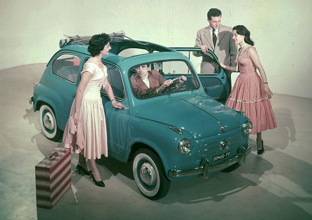Fiat 600, icona del boom economico italiano, compie 65 anni