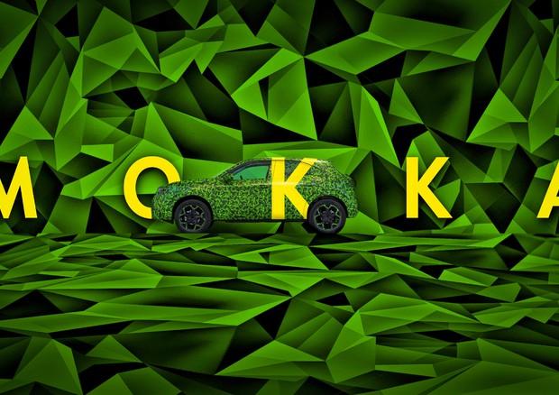Opel Mokka elettrica, prime immagini