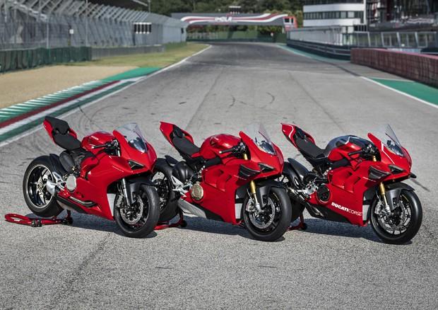 La gamma Ducati