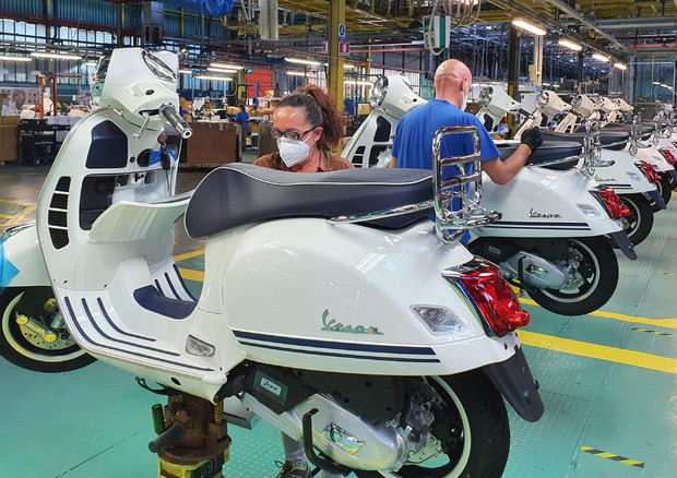 Piaggio: utile sei mesi 9 mln con Covid, conferma investimenti - Industria
