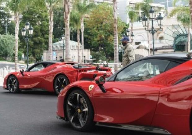 Ferrari: presentato 'Le grand rendez-vous', film con Leclerc - Attualità