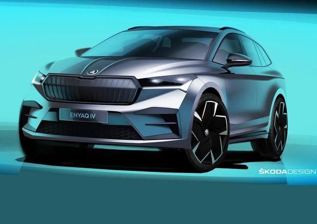 Nuova era del design Škoda con il SUV elettrico Enyaq iV