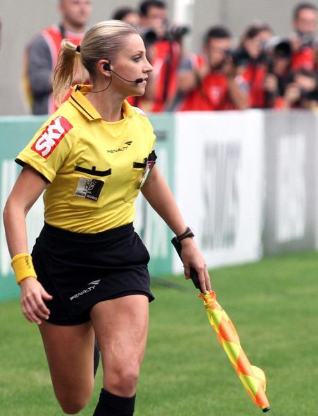 Le donne arbitri in brasile