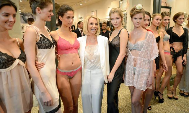Le lingerie made by 'Britney Spears' - Curiosita'